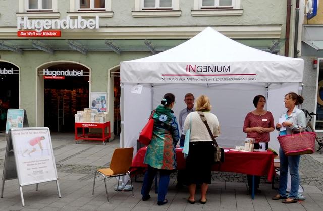 Wir waren dabei: Aktiv ist IN – 29. Ingolstädter Gesundheitstag 2017 am Samstag, 1. Juli 2017, 9 bis 15 Uhr in der Fußgängerzone